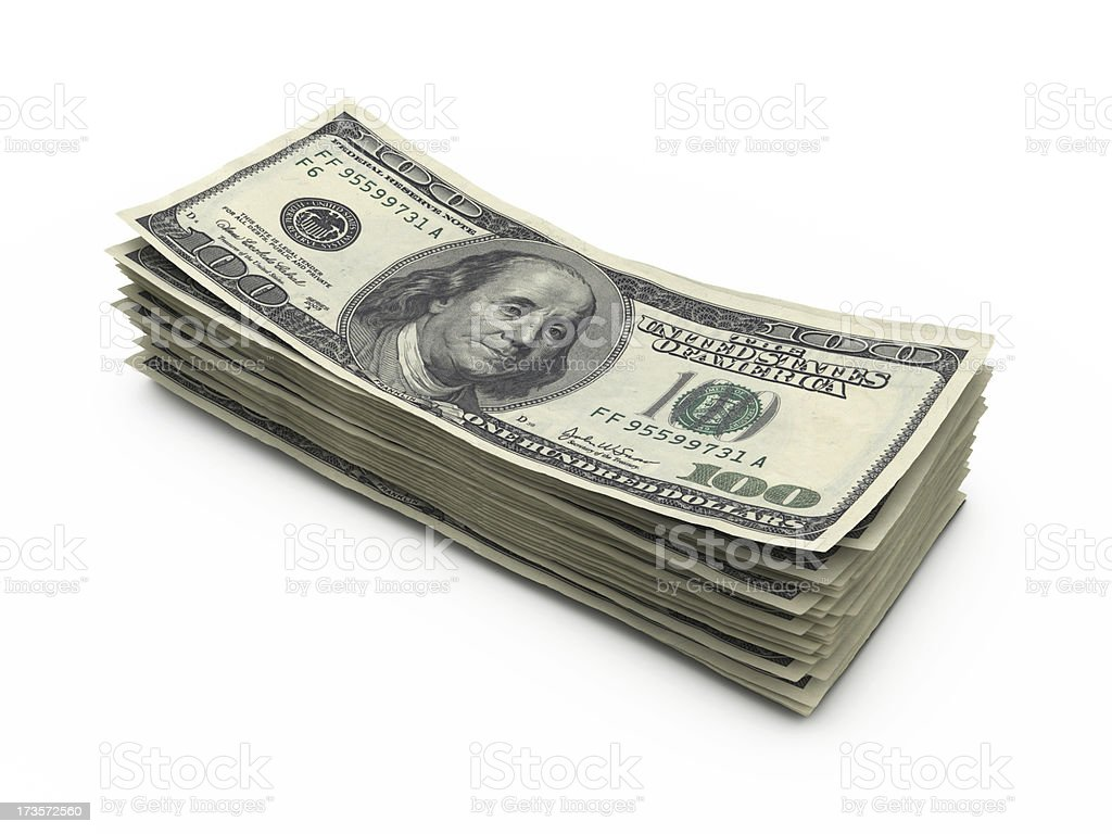 dollar stock photos stack of one hundred dollar bills stock photo more 8791