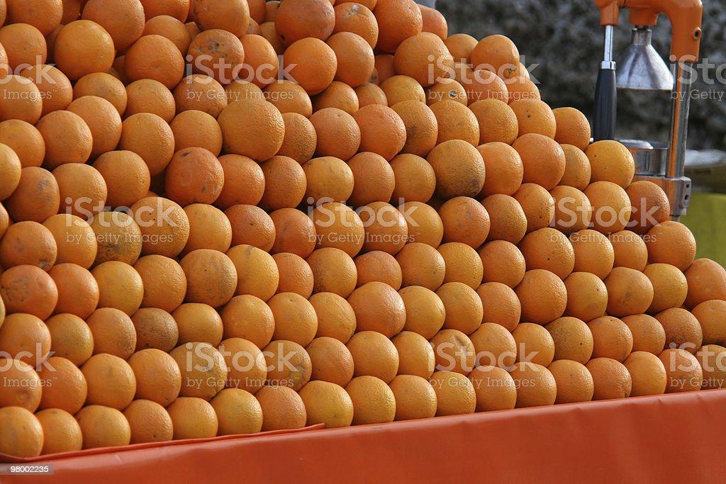 Stack of orange. royalty-free stock photo