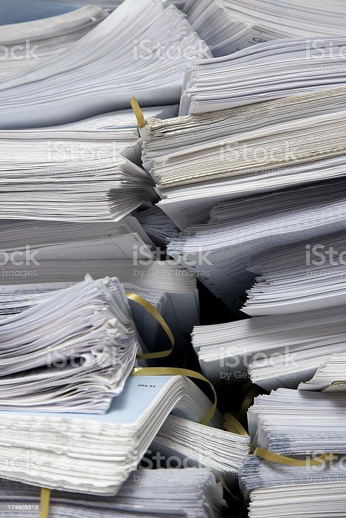 Stapel Papiere 01 – Foto
