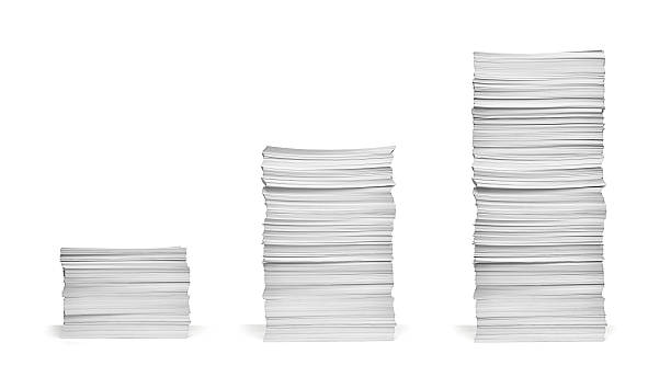 stack of papers documents office business - stack stock pictures, royalty-free photos & images