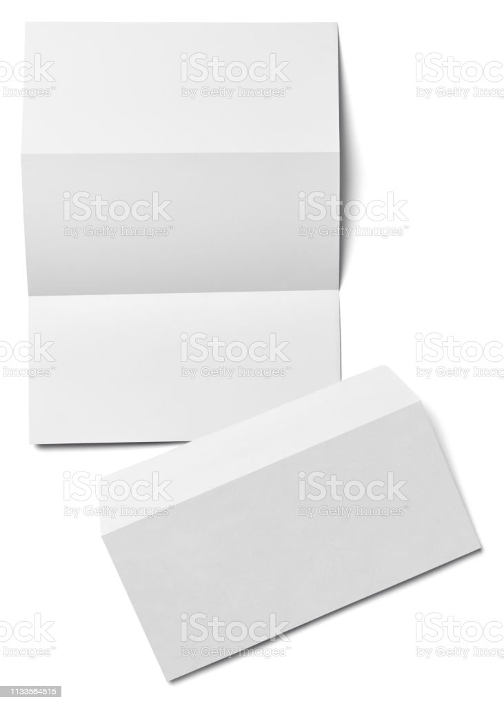 Stack Of Papers With Curl Documents Office Business Stock