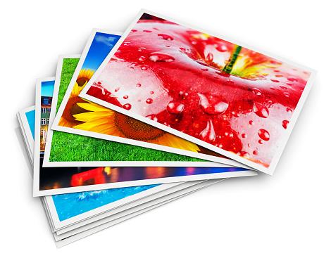 写真カードのスタック - 3Dのストックフォトや画像を多数ご用意
