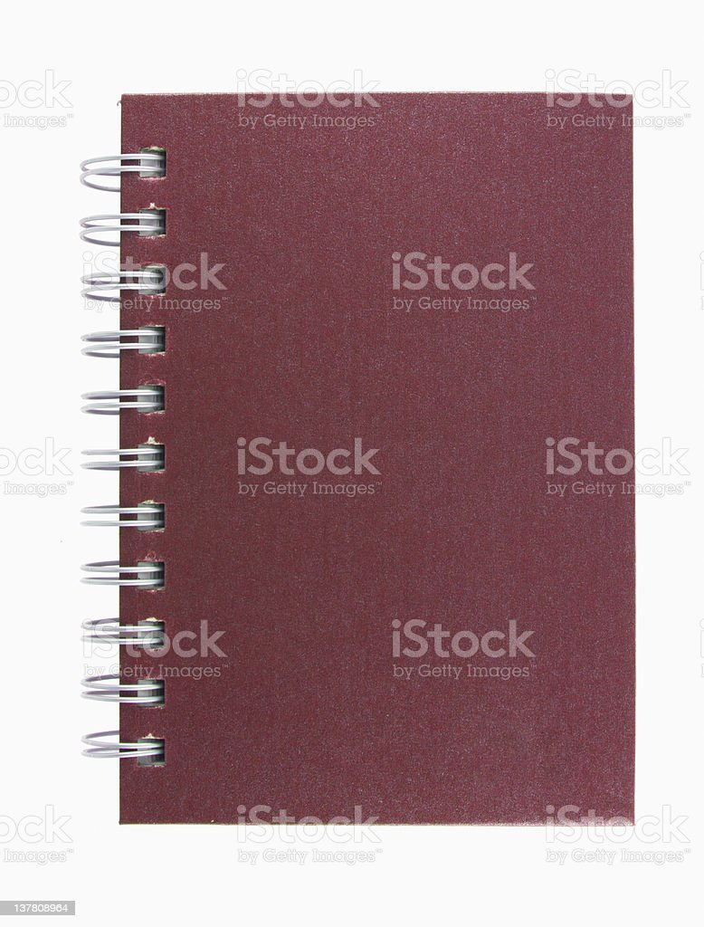 stack of ring binder book  notebook isolated on white background royalty-free stock photo