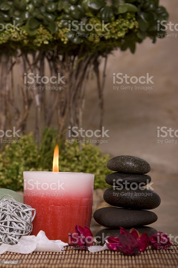 Stack of rocks royalty-free stock photo