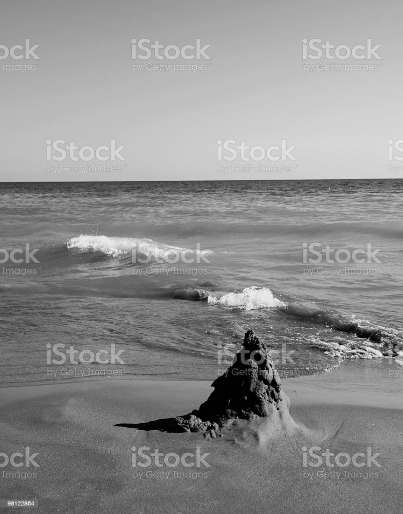 Stack of Sand royalty-free stock photo