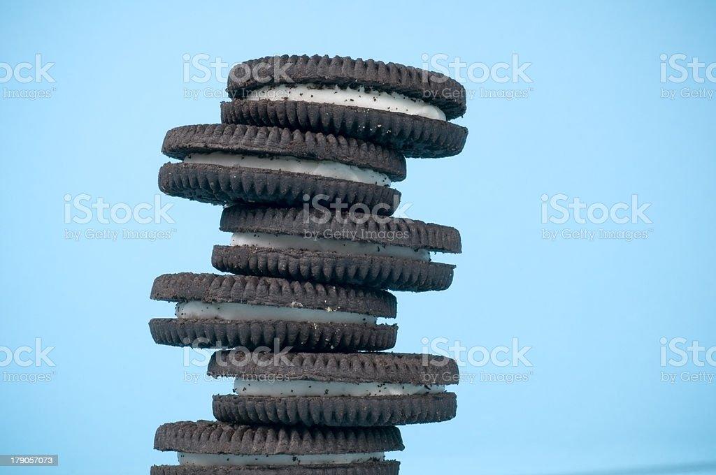 Stack of Sandwich Cookies