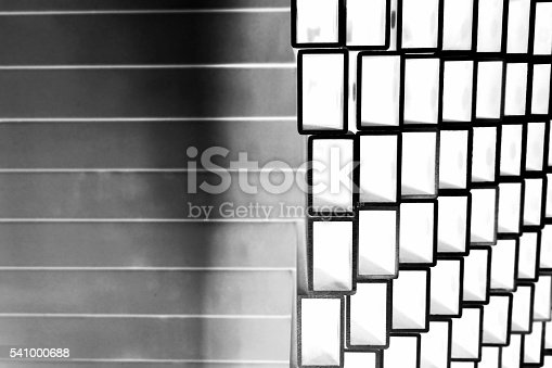 istock stack of square aluminum tube 541000688