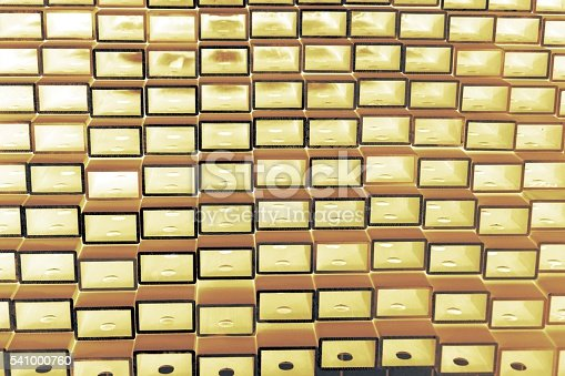 istock stack of square aluminum tube 541000760