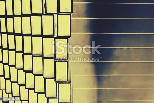 istock stack of square aluminum tube 542073756