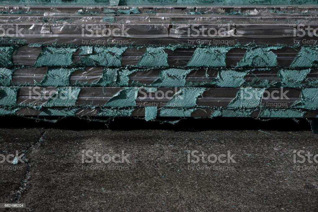 stack of stainless steel square tube Стоковые фото Стоковая фотография