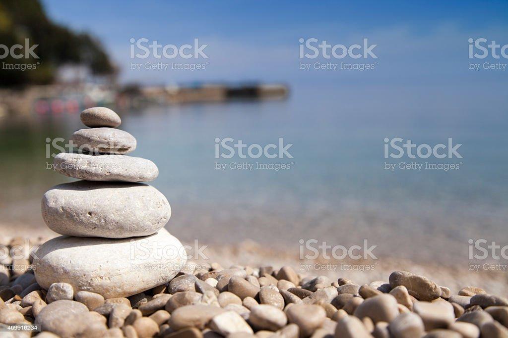 Montón De Piedras Zen Concepto Foto De Stock Y Más Banco De