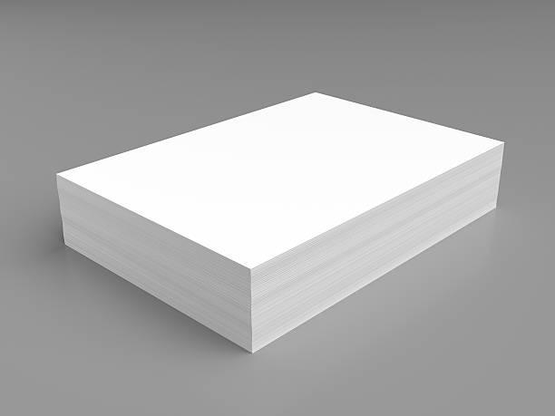 Pile de livre blanc - Photo