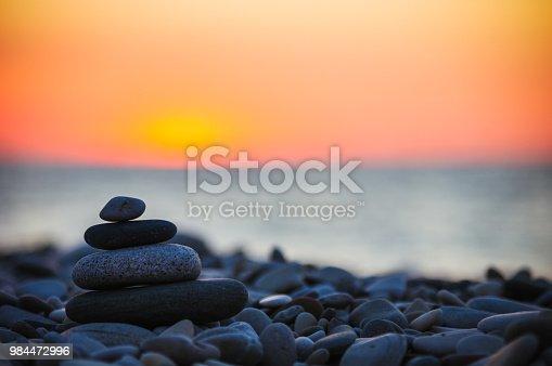 istock stack of zen stones on pebble beach 984472996