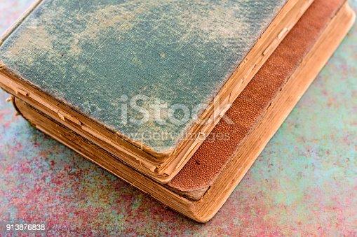 1034955096 istock photo Stack vintage books 913876838