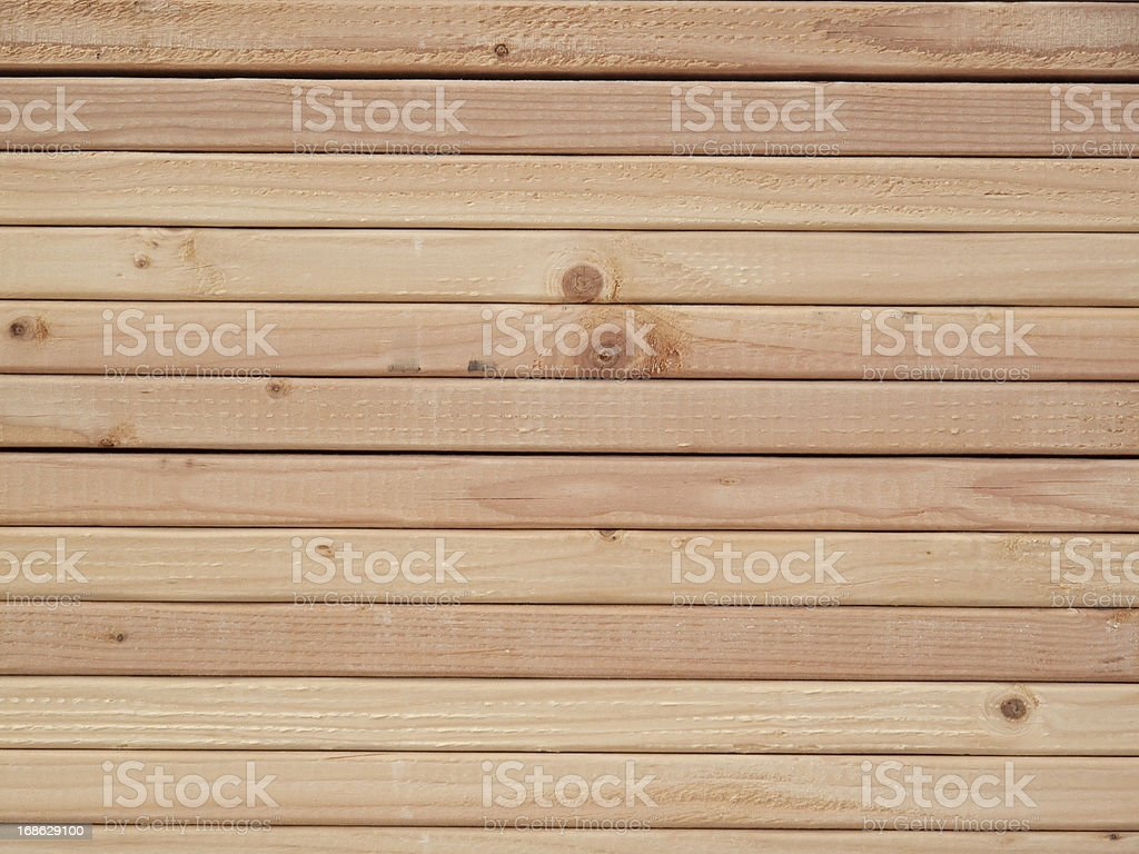 Stacked 2' x 4's stock photo