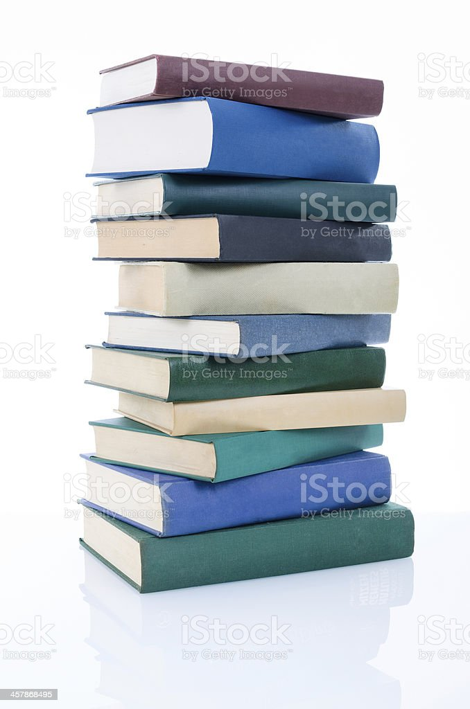 stacked books stock photo more pictures of book istock
