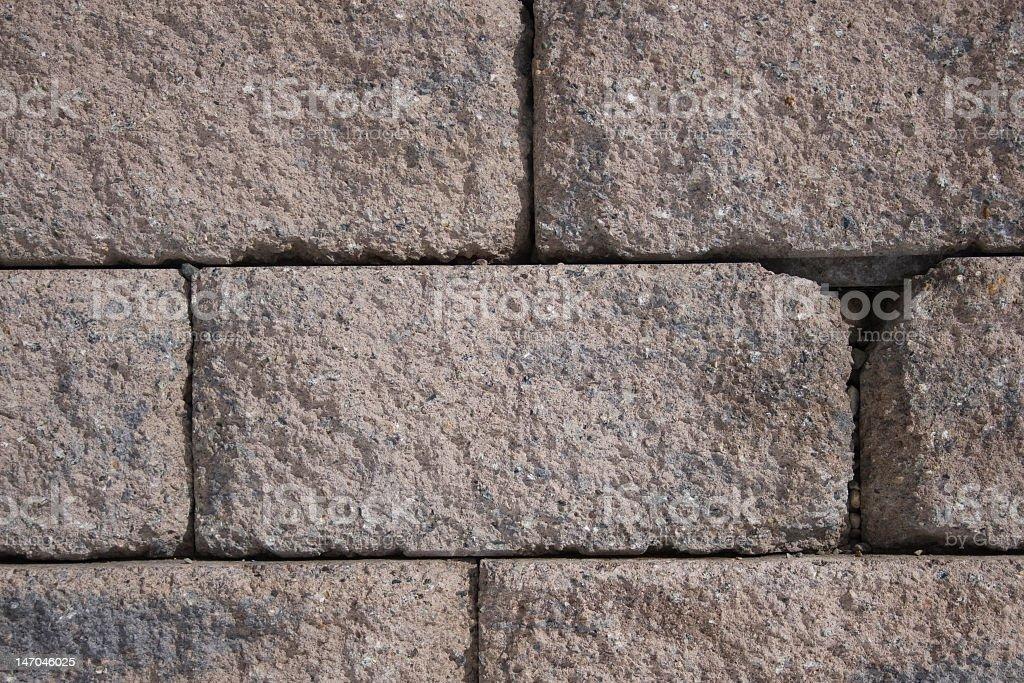 Stacked Bricks royalty-free stock photo