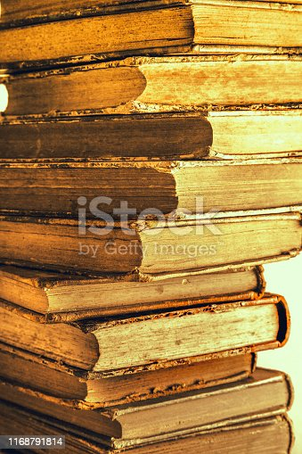 10 books stacked