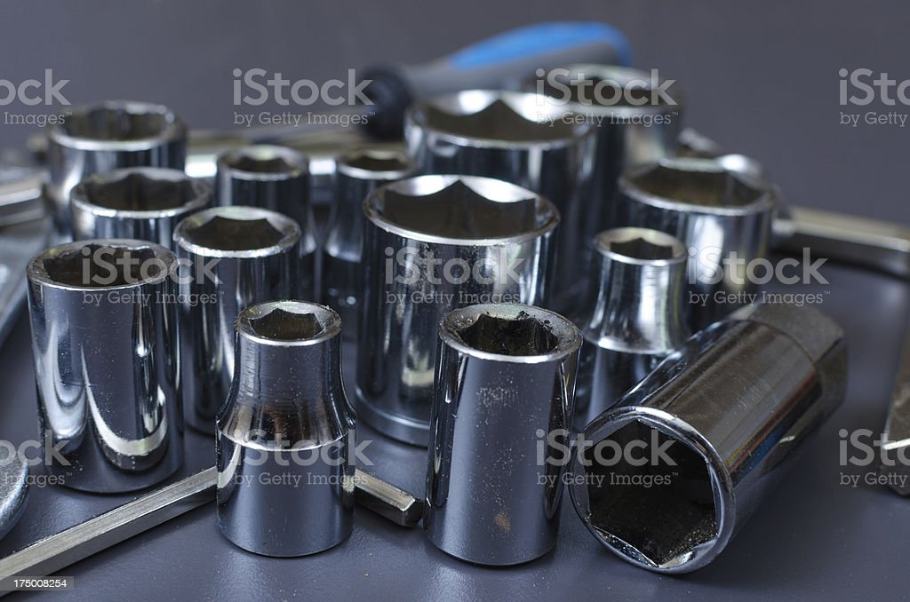 Stacked Spanners royalty-free stock photo