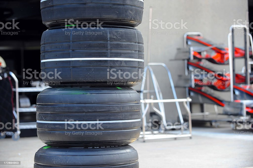 Stacked Up stock photo