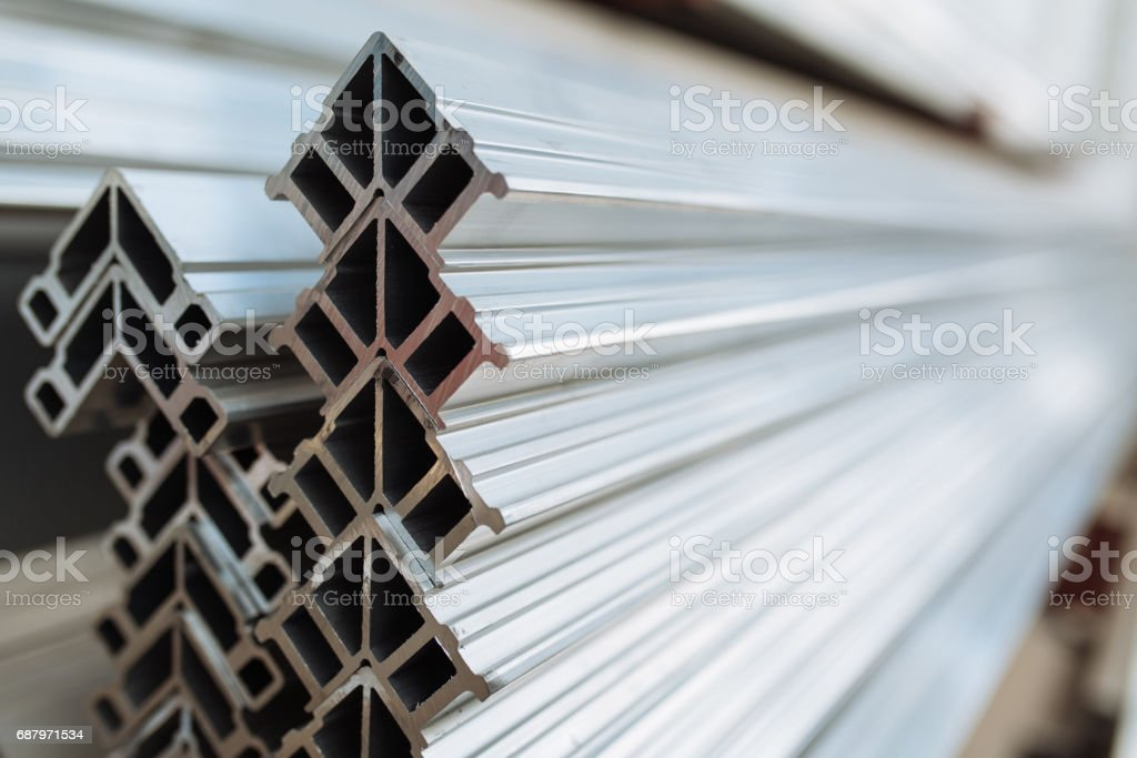 stacking corner cleat stock photo