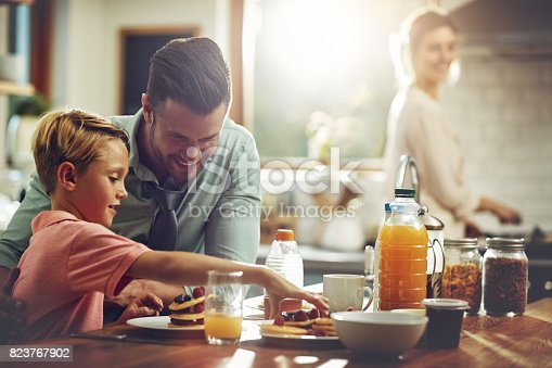 istock Stacking up the good stuff 823767902