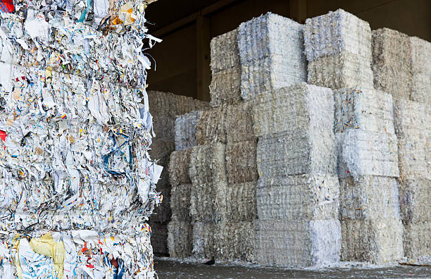 recycling-papier - papier recycling stock-fotos und bilder