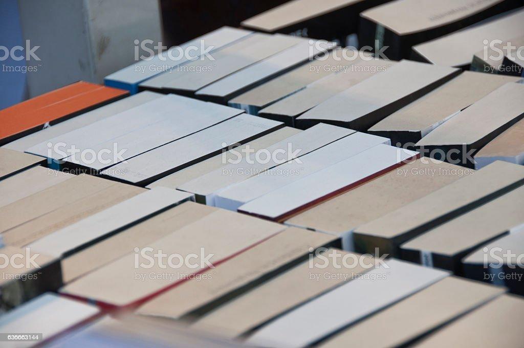 Stapel von Büchern – Foto