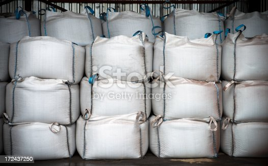 Big and heavy chemical sacks,