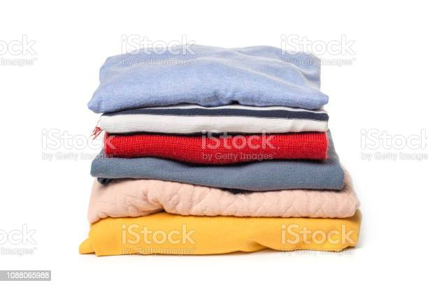 Stacks of folded clothes on white background picture id1088065988?b=1&k=6&m=1088065988&s=612x612&h=j3ynr54buwr4w4wr9fly2zvhvtka1ric2gwk91bejqe=