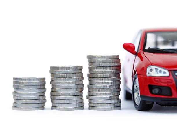Geld und Auto – Foto