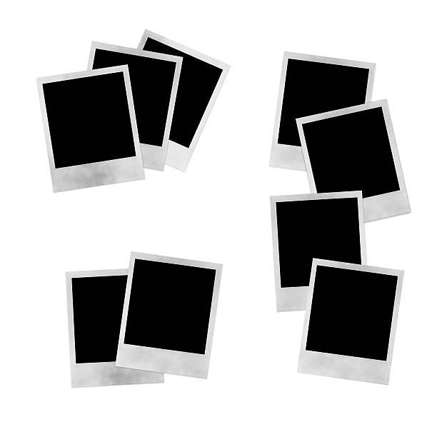 Stacks of Photos stock photo