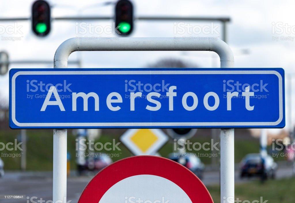Stad Hillegersberg teken van Amersfoort, Nederland foto