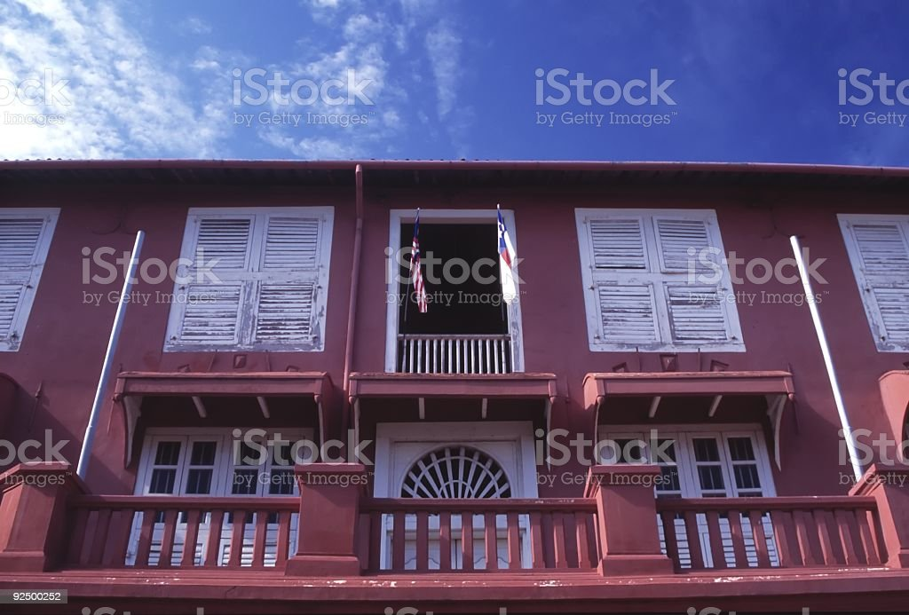 Stadhuys Building royalty-free stock photo