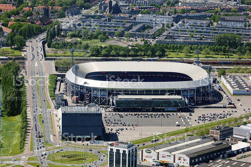 Stadion Feijenoord, De Kuip. foto
