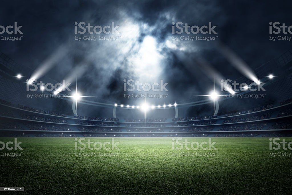 Stadium, 3d rendering - foto de stock