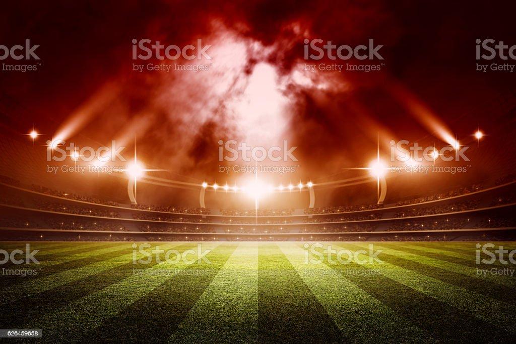 Stadium, 3d rendering – Foto