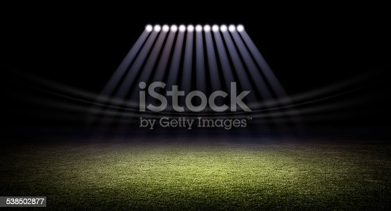 508552962istockphoto Stadium and lights 538502877