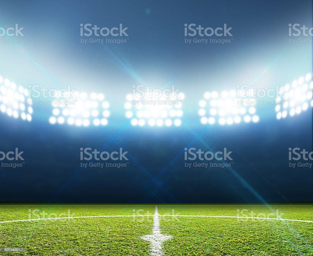 Estadio de fútbol de paso - foto de stock
