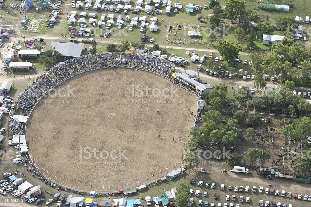 stadium arena - Royalty-free Aerial View Stock Photo