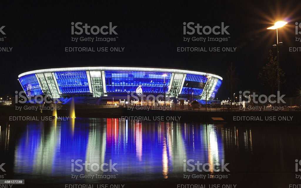 Stadium Donbass Arena royalty-free stock photo
