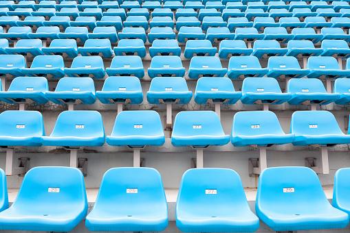 171581046 istock photo Stadium empty seats 528429687