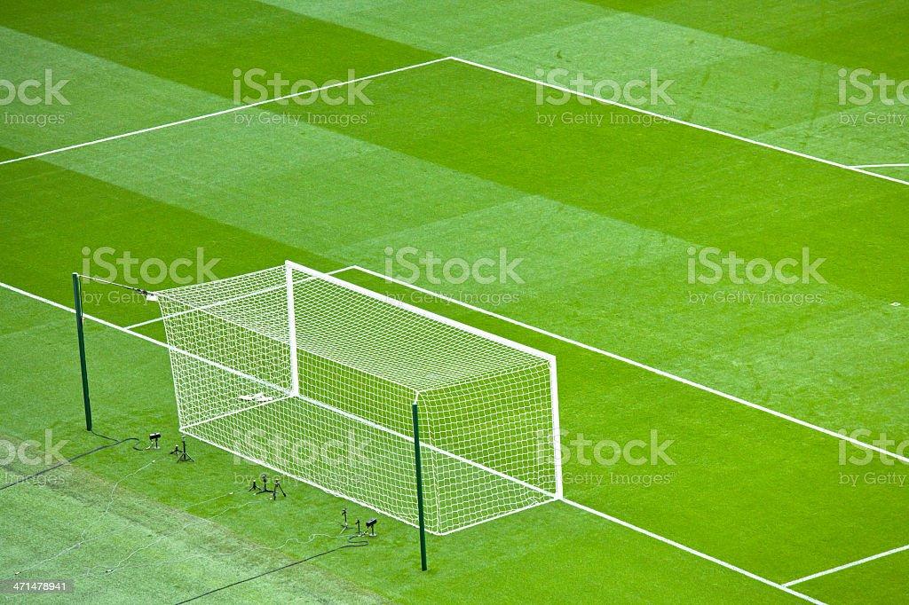 Stadium Goal royalty-free stock photo