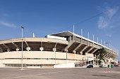 Cartagonova stadium in the city of Cartagena. Province of Murcia, southern Spain