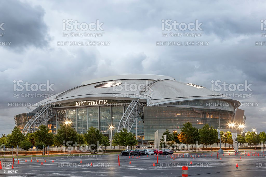 AT&T Stadium in Dallas, USA stock photo