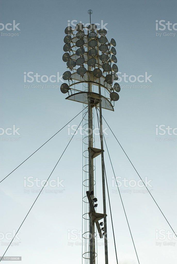 stadium light royalty-free stock photo