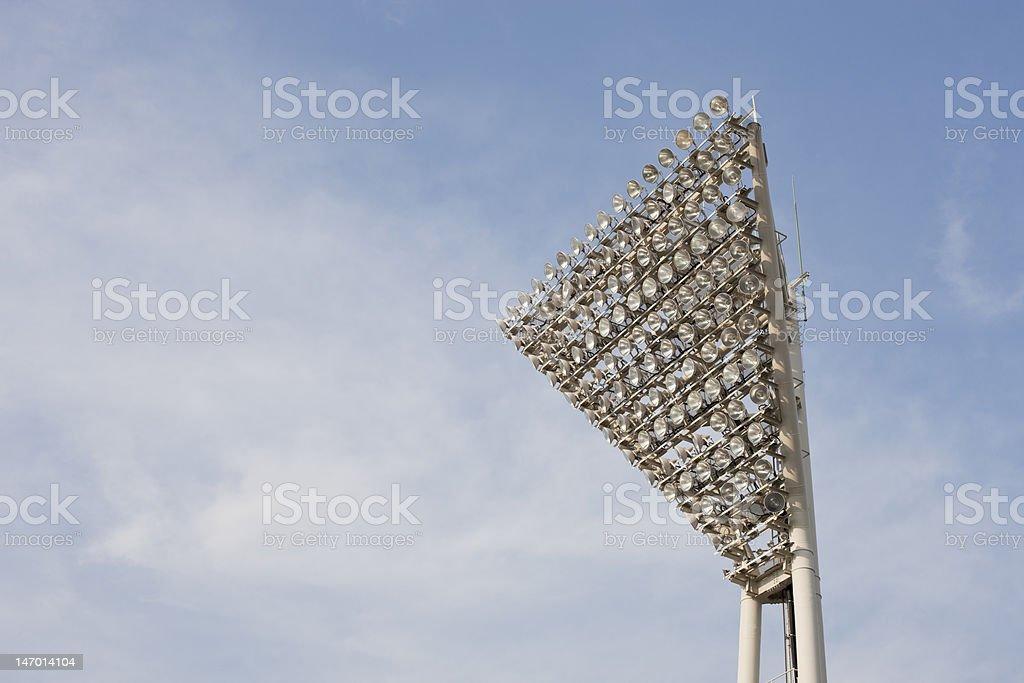 Stadium lighting (horizontal) A bank of lights at a Japanese baseball stadium (Adobe RGB) Asia Stock Photo
