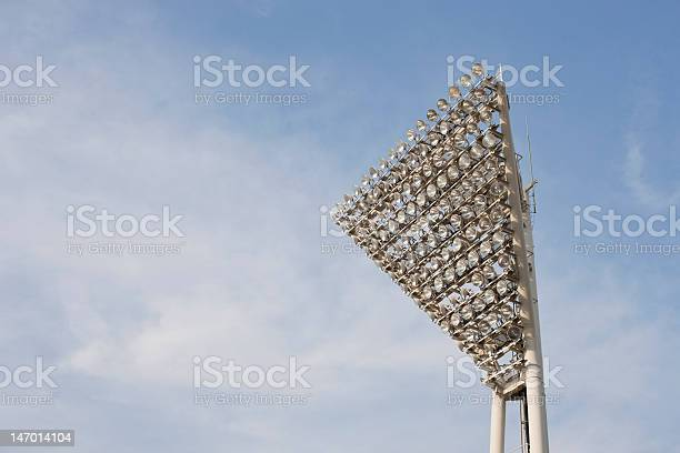 Stadium Lighting Stock Photo - Download Image Now