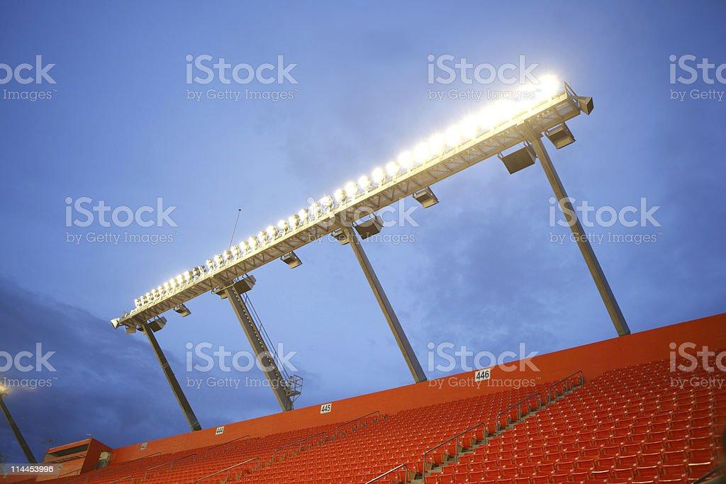 Stadium Lights royalty-free stock photo