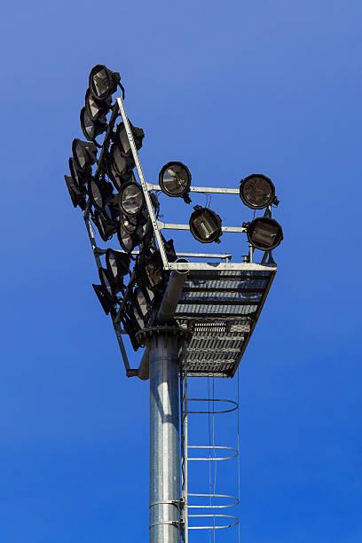 stadion lichter  - einbauspots stock-fotos und bilder